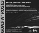 GN'R Knockin On Heavens Door Promo