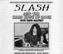 ラジオショウCD Slash and The Hard Edge of Rock
