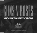 GN'R Knockin On Heavens Door Single