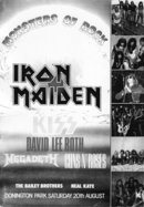 GN'R Monstres Of Rock 88 Programme