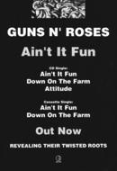 GN'R Ain't It Fun Uk Advert