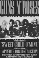 GN'R Sweet Child O'Mine Uk Advert