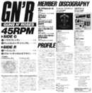 GN'R Sampler LP Jap